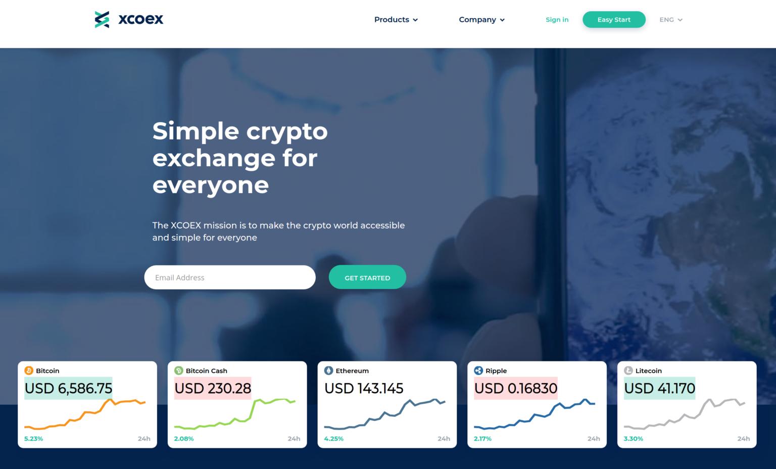 Giełda kryptowalut XCOEX | beincrypto.pl
