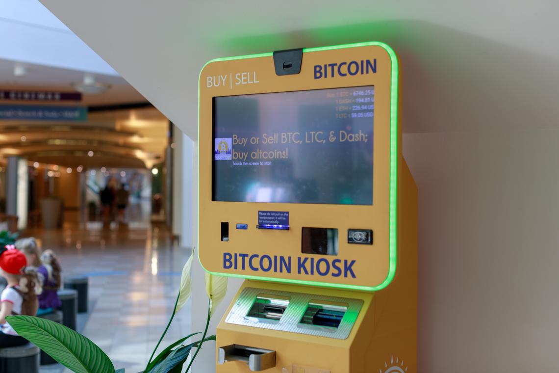 Bitcoin bankomat | beincrypto.pl