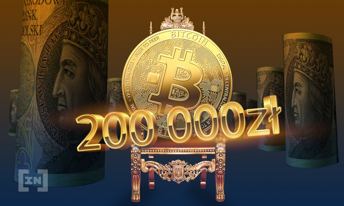 Bitcoin (BTC) przebija 200 000 PLN!