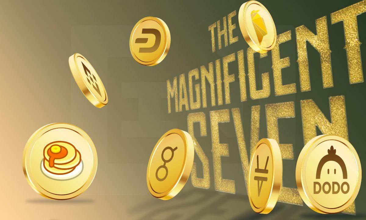 Wspaniała siódemka: TEL, ETC, QTUM, DOGE, OMG, EOS, LSK – najwięksi wygrani tygodnia 30 kwietnia – 7 maja