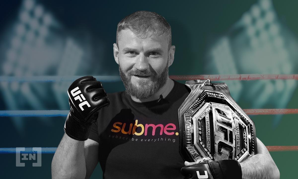 Mistrz świata UFC Jan Błachowicz ogłasza współpracę z Subme (SUB)