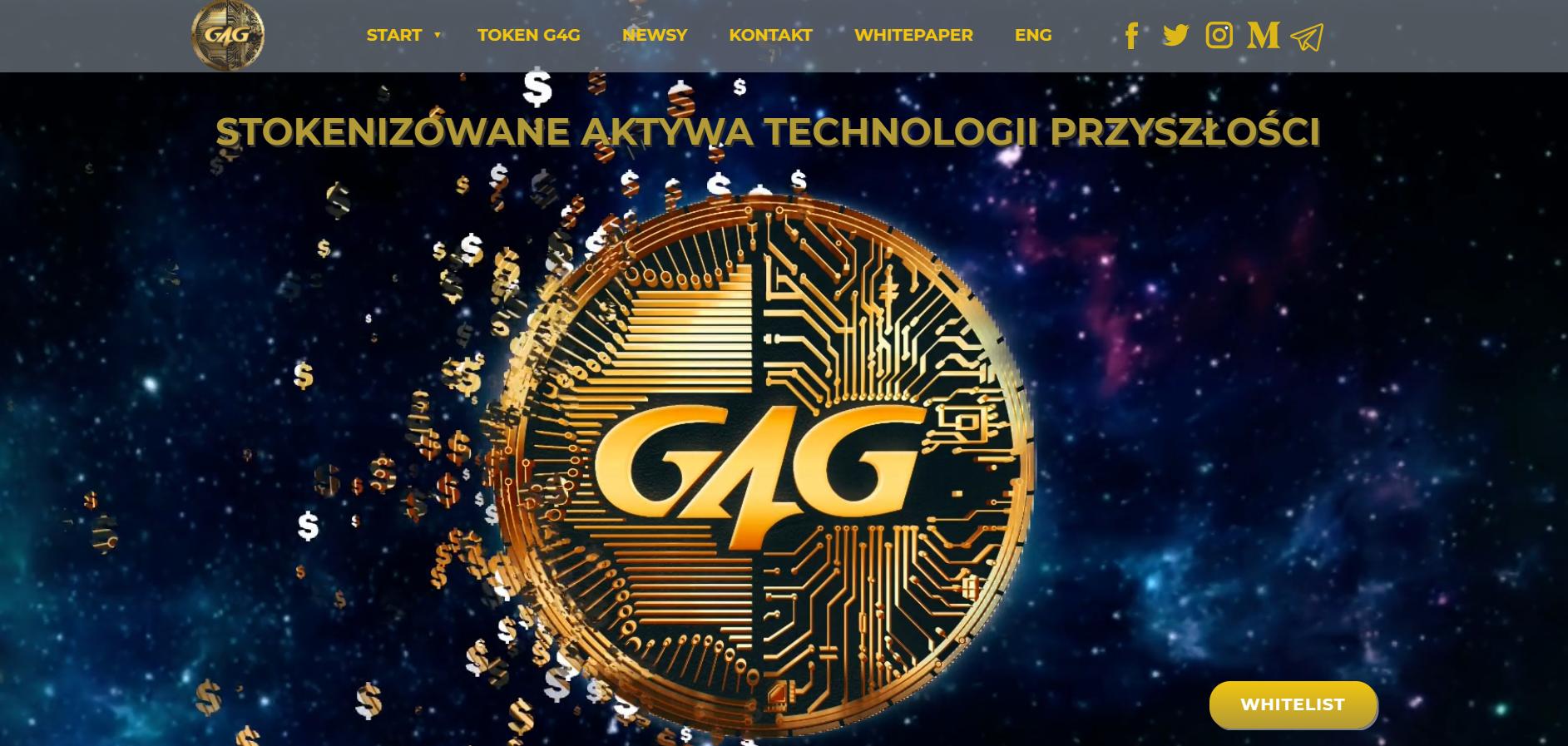 Witryna internetowa G4G